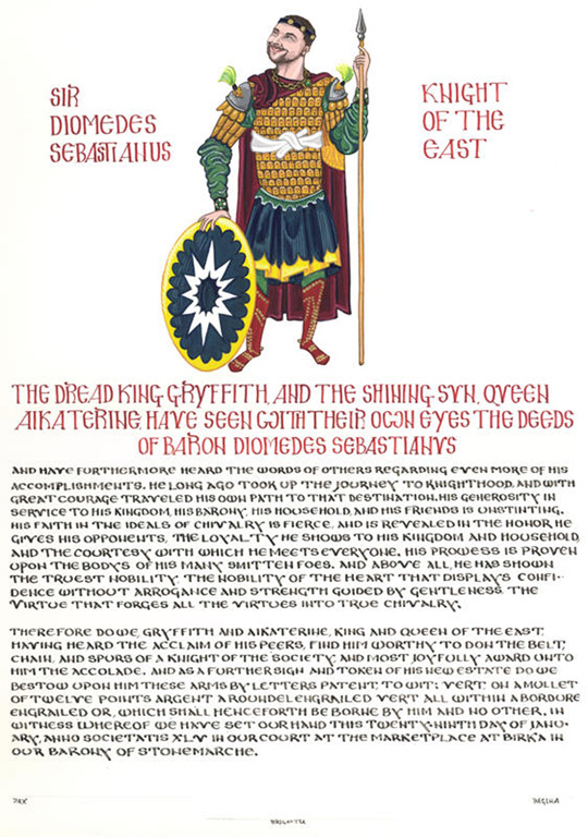 Order of the Chivalry by Aelfgifa of the Hazel Thicket
