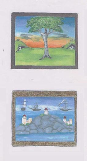 Dutch miniatures by Lillian atte Valeye