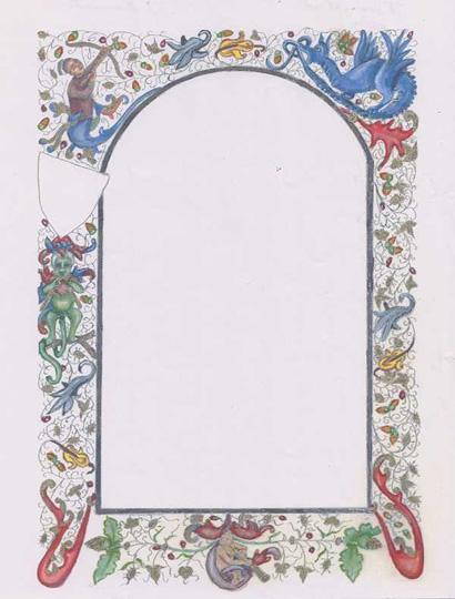 Dutch border blank by Lillian atte Valeye